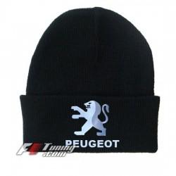 Bonnet Peugeot noir