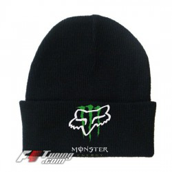 Bonnet Fox Monster Energy noir
