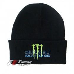 Bonnet Subaru Rally Team Usa Monster Energy noir