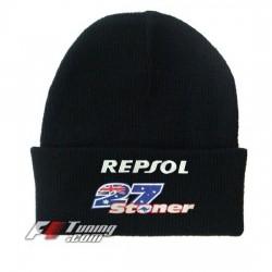 Bonnet Honda Repsol Casey Stoner noir