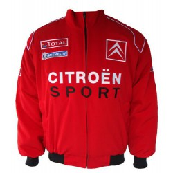 Blouson Citröen Racing Team WRC couleur rouge