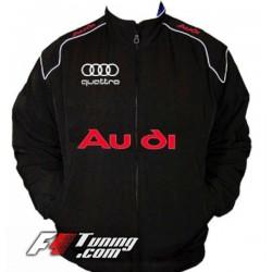 Blouson AUDI Quattro Team de couleur noir