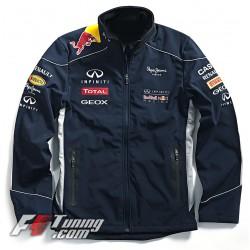 Blouson Infiniti Red Bull Racing Team F1 couleur bleu nuit