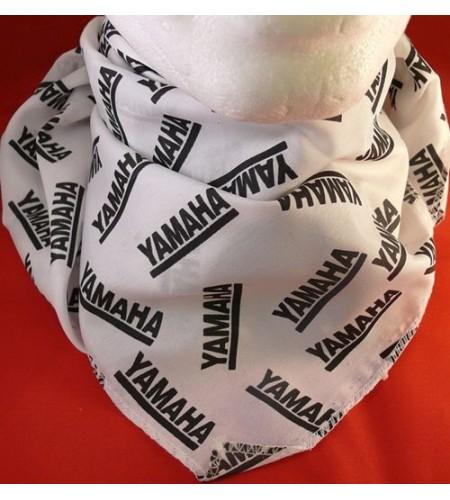 Bandana, Yamaha logos Noir/Blanc
