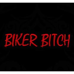 Polo Biker Bitch de couleur noir