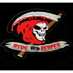 Polo Ride with the Reaper de couleur noir