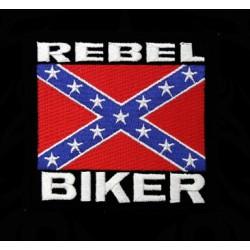 Polo Rebel Biker de couleur noir