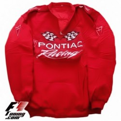 Blouson Pontiac Racing Team Sport Automobile couleur rouge