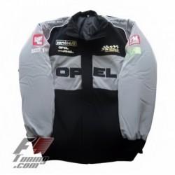 Blouson Opel Team sport mécanique couleur noir