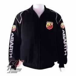 Blouson Abarth Team Sport Automobile couleur noir