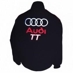 Blouson Audi TT Team de couleur noir