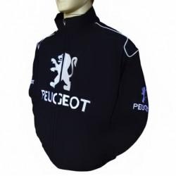 Blouson Peugeot Team Sport Automobile couleur noir