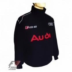 Blouson Audi RS6 Team Sport Automobile couleur noir