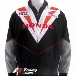 Blouson Honda Racing Team moto couleur noir