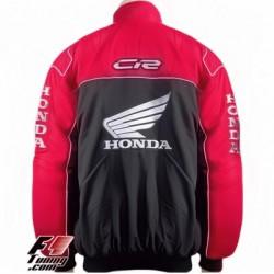 Blouson Honda CBR Team Moto couleur noir