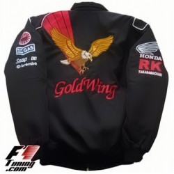 Blouson Honda Goldwing Team Moto couleur noir