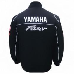 Blouson Yamaha Team Fazer moto couleur noir