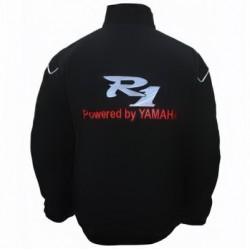 Blouson Yamaha Team R1 moto couleur noir