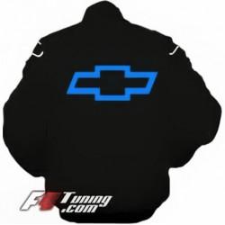 Blouson CHEVROLET Racing Team de couleur noir