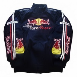 Blouson Red Bull TORO ROSSO Racing Team F1 de couleur bleu nuit
