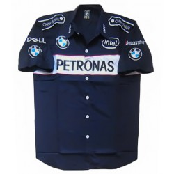 Chemise BMW Sauber Team formule-1 bleu nuit