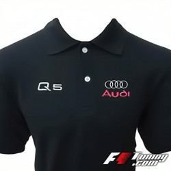 Polo AUDI Q5 de couleur noir
