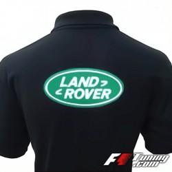Polo LAND ROVER de couleur noir