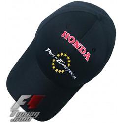 Casquette HONDA PAN-EUROPEAN de couleur noir