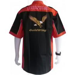 Chemise Honda Goldwing Team Motorwear noir