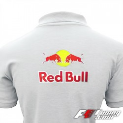 Polo RED BULL de couleur blanc
