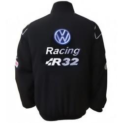 Blouson Volkswagen Team Racing sport mécanique couleur noir
