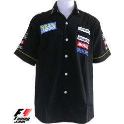 Chemise Suzuki Team noir