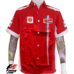 Chemise Ferrari Team rouge
