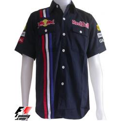 Chemise Red Bull F1 Team noir