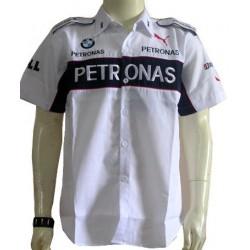 Chemise BMW Sauber Team formule-1 blanc