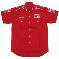 Chemise Ducati Team Motorwear rouge