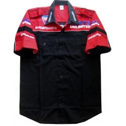 Chemise Ducati Team Motorwear noir