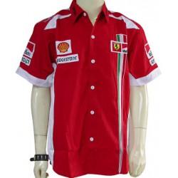 Chemise Ferrari Team formule-1 rouge