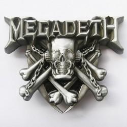 Boucle de ceinture Megadeth