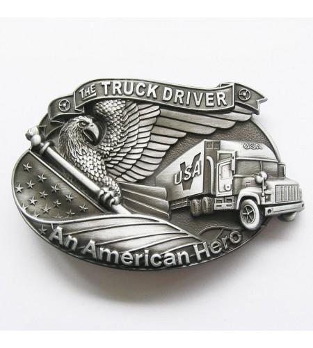 Boucle de ceinture Truck Drivers American Heroes