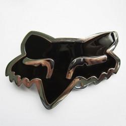 Boucle de ceinture Fox Racing de couleur noir