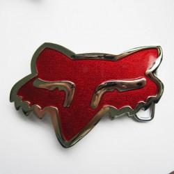 Boucle de ceinture Fox Racing de couleur rouge