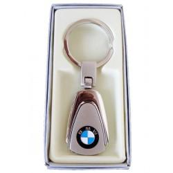 Porte-clés BMW en Acier 316L Chromé