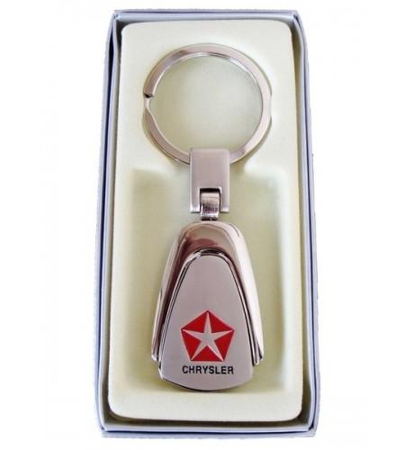 Porte-clés Chrysler en Acier 316L Chromé