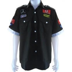 Chemise McLaren Mercedes Team formule-1 noir