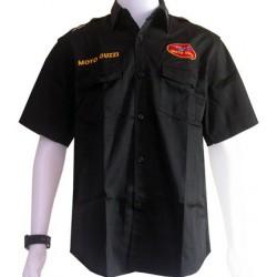 Chemise Moto Guzzi Team Motorwear noir