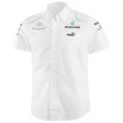 Chemise Mercedes AMG Petronas F1 Team 2013 blanc