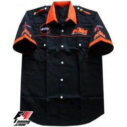 Chemise KTM Team noir