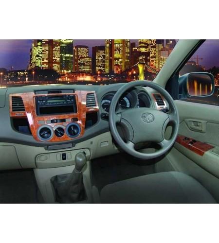 Intérieur couleur Toyota Vigo