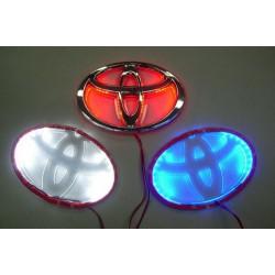 Logo Toyota rétro éclairé par LED couleur